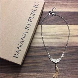 Banana Republic Crystal Treasure Trove Necklace.